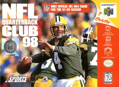 NFL Quarterback Club 98 Cover Art