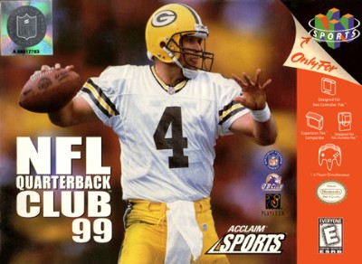 NFL Quarterback Club 99 Cover Art
