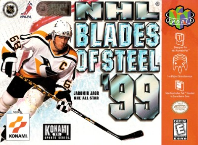 NHL Blades Of Steel '99 Cover Art