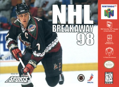 NHL Breakaway 98 Cover Art