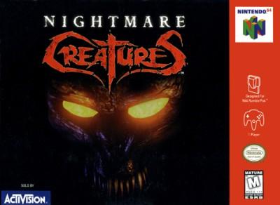 Nightmare Creatures Cover Art
