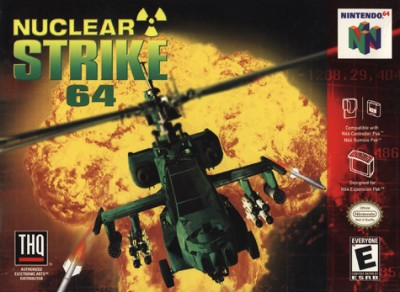 Nuclear Strike 64 Cover Art