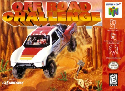 Off Road Challenge Cover Art