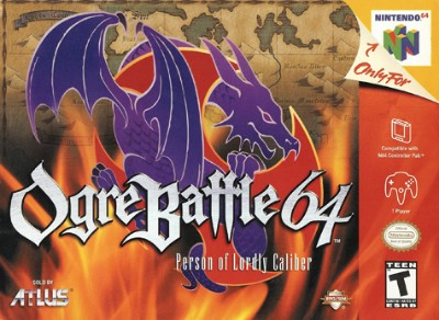 Ogre Battle 64: Person Of Lordly Caliber Cover Art