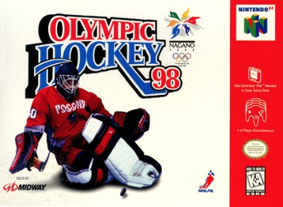 Olympic Hockey 98 Cover Art