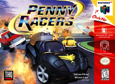 Penny Racers Cover Art