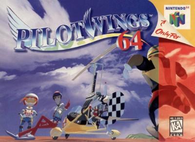 Pilotwings 64 Cover Art