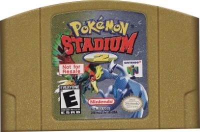 Pokemon Stadium 2 [Not For Resale] Cover Art
