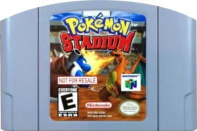 Pokemon Stadium [Not For Resale] Cover Art