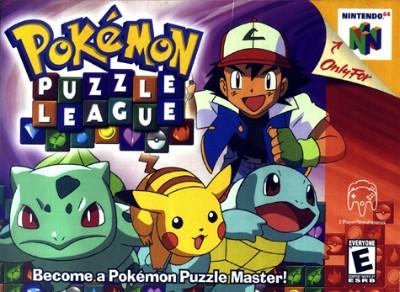 Pokemon Puzzle League Cover Art