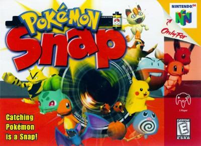 Pokemon Snap Cover Art