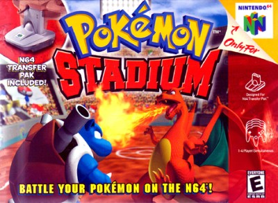 Pokemon Stadium Cover Art