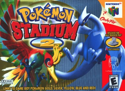 Pokemon Stadium 2 Cover Art
