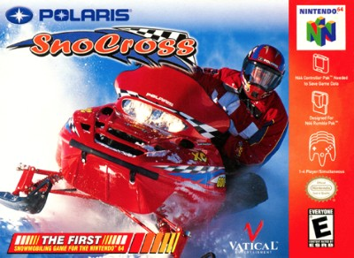 Polaris SnoCross Cover Art
