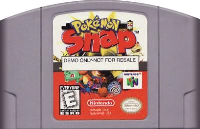 Pokemon Snap [Not For Resale][Blockbuster] Cover Art