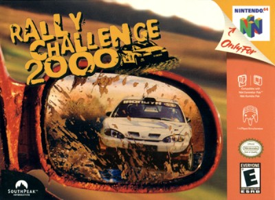 Rally Challenge 2000 Cover Art