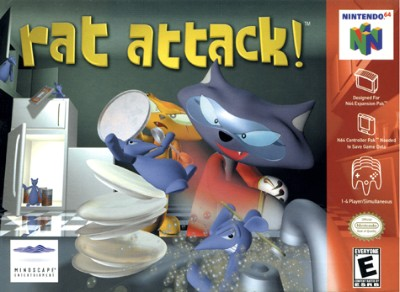 Rat Attack! Cover Art