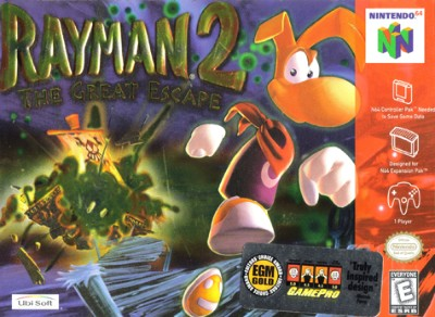 Rayman 2: The Great Escape Cover Art
