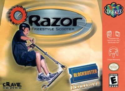 Razor Freestyle Scooter Cover Art