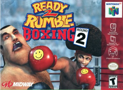 Ready 2 Rumble Boxing: Round 2 Cover Art