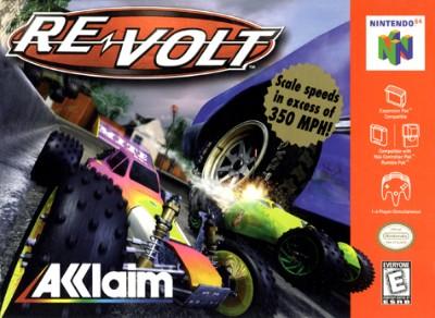 Re-Volt Cover Art