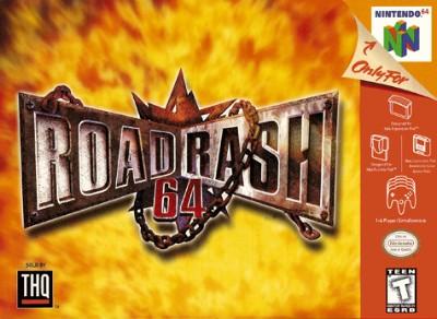 Road Rash 64 Cover Art