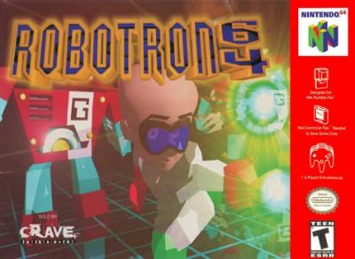 Robotron 64 Cover Art