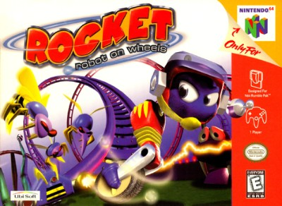 Rocket: Robot On Wheels Cover Art