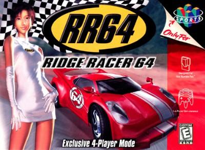 Ridge Racer 64 Cover Art