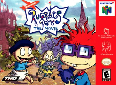 Rugrats in Paris: The Movie Cover Art