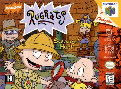 Rugrats: Scavenger Hunt Cover Art
