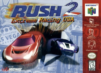 Rush 2 Extreme Racing USA Cover Art