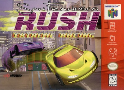 San Francisco Rush: Extreme Racing Cover Art