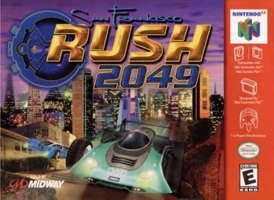 San Francisco Rush: 2049 Cover Art