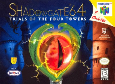 Shadowgate 64: Trial of the Four Towers Cover Art