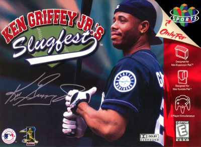 Ken Griffey Jr.'s Slugfest Cover Art