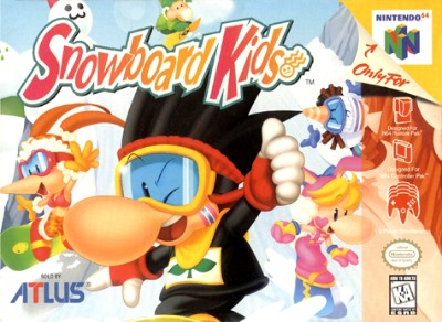 Snowboard Kids Cover Art