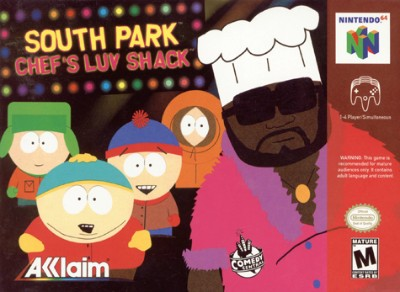 Chef's Luv Shack: South Park Cover Art
