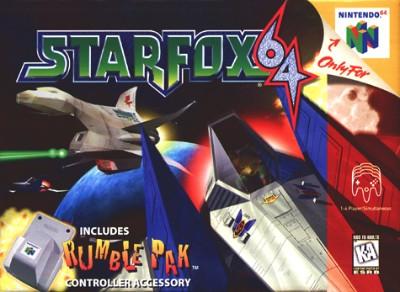 Star Fox 64 Cover Art