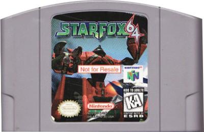 Star Fox 64 [Not For Resale] Cover Art