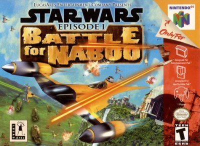 Star Wars Episode I: Battle For Naboo Cover Art