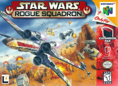 Star Wars: Rogue Squadron Cover Art