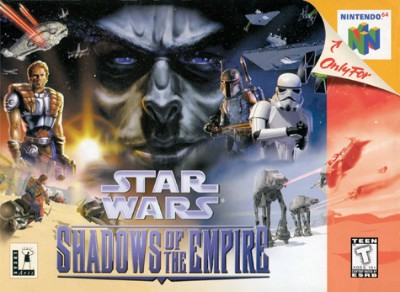 Star Wars: Shadows Of The Empire Cover Art