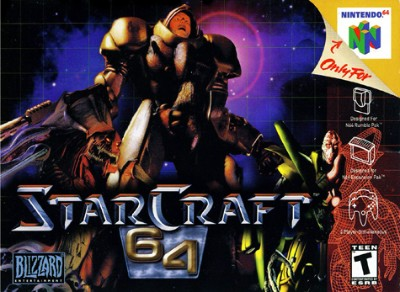 StarCraft 64 Cover Art