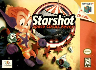 Starshot: Space Circus Fever Cover Art