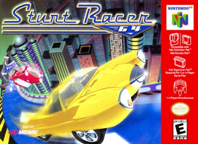 Stunt Racer 64 Cover Art