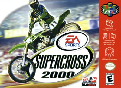 Supercross 2000 Cover Art