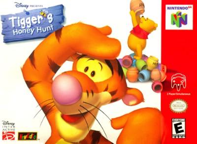 Tigger's Honey Hunt Cover Art