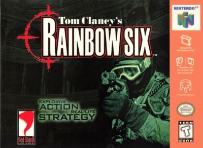 Tom Clancy's Rainbow Six Cover Art
