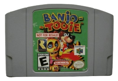 Banjo-Tooie [Not For Resale] Cover Art